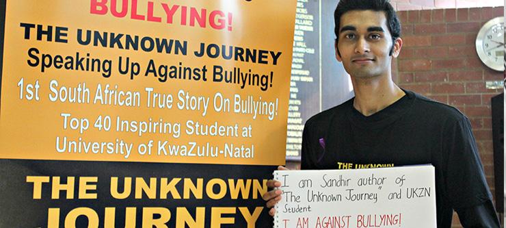 Mr Sandhir Sewmungal takes on bullying in schools.