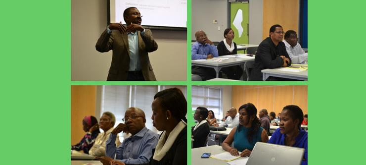 UKZN's Terminology Development workshop on the Howard College campus.
