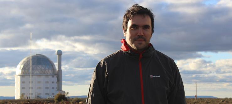 UKZN Astronomer, Dr Matt Hilton.