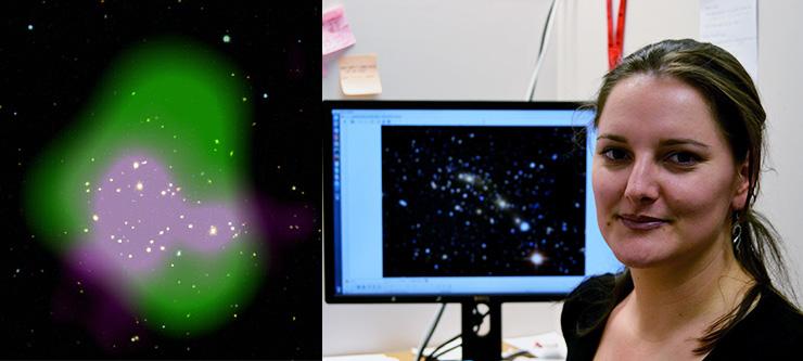 UKZN PhD Astronomer Finds New Radio Halo