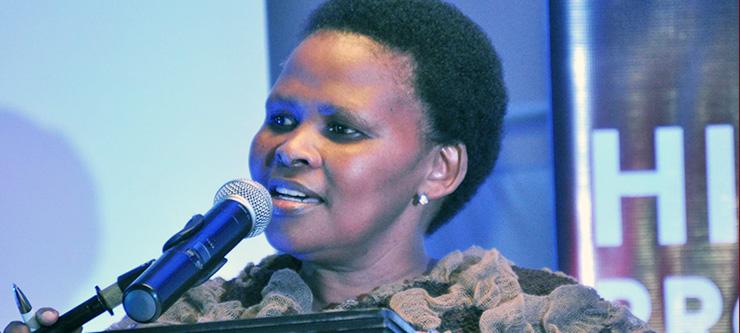 Ms Nomonde Magantolo: UKZN HIV and AIDS Programme Co-Ordinator.