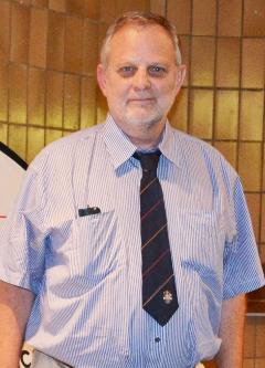Prolific peer-reviewed papers publisher Professor Gert Kruger.